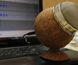 Как сделать настольный студийный USB микрофон для компьютера своими руками