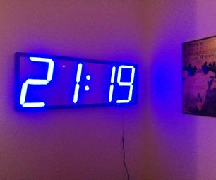 Большие часы своими руками фото 213